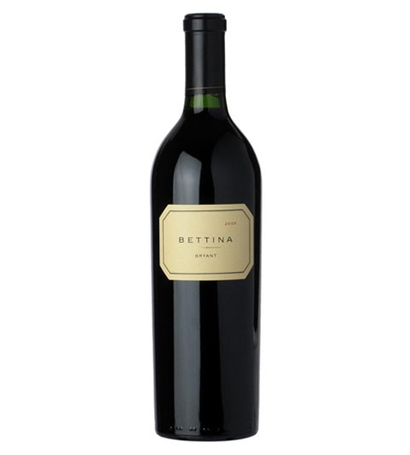 Bettina Proprietary Red Wine Blend Napa Valley Bryant Family