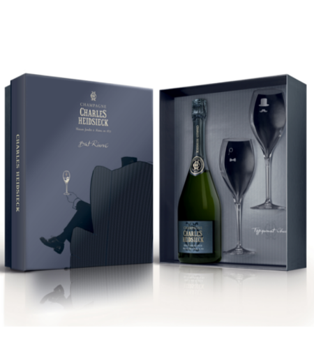 Champagne Brut Reserve Charles Heidsieck - Armchair Gift Box