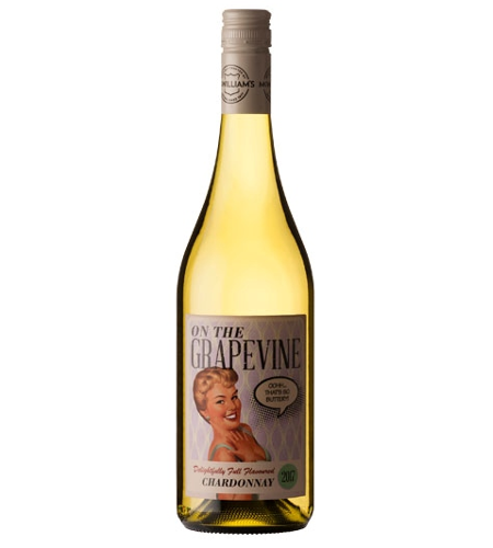 Chardonnay On The Grapevine McWilliams - Case of 6