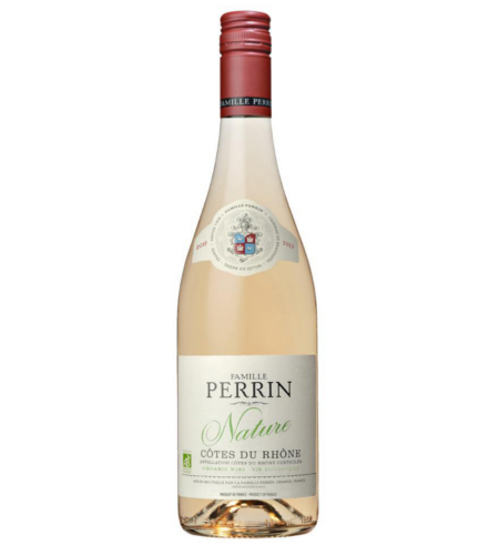 Cotes du Rhone Nature Rose La Famille Perrin - Case of 6