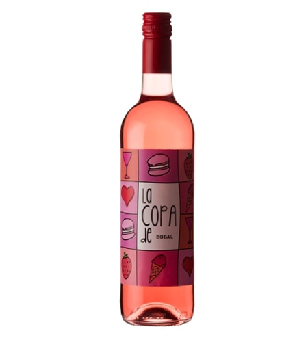 La Copa de Bobal Rose Bodegas Covinas - Case of 6