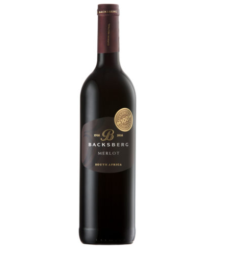 Merlot Backsberg Estate - Case of 6