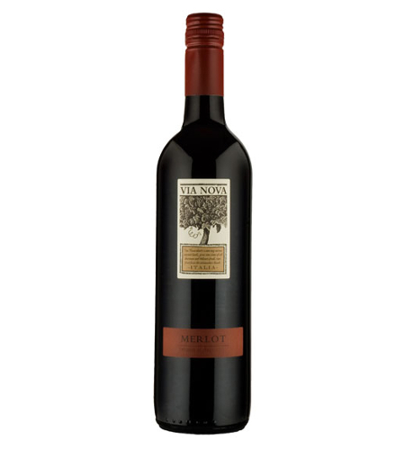 Merlot del Veneto Via Nova - Case of 6