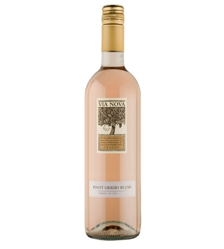 Pinot Grigio Blush Via Nova - Case of 6