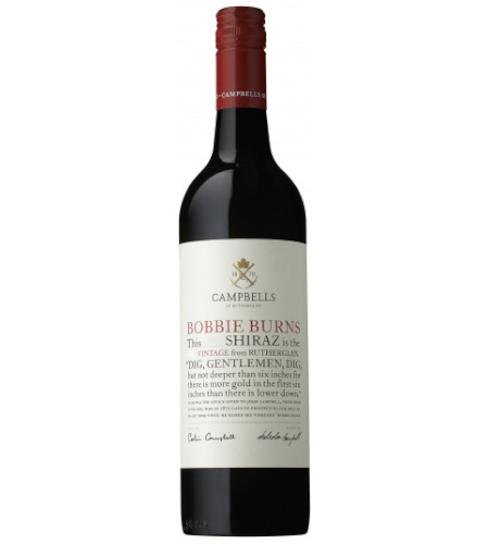 Shiraz Bobbie Burns Campbells of Rutherglen - Case of 6